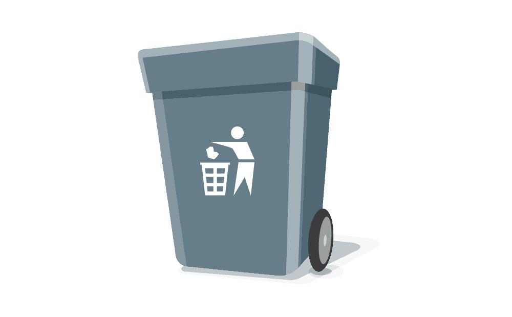 Søppelbotte